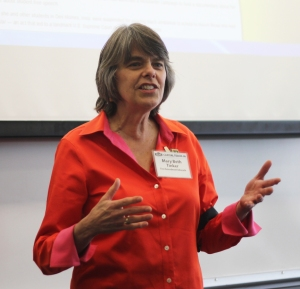 Mary Beth Tinker. (Photo by David W. Bulla)